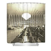 Spritual Connection Shower Curtain