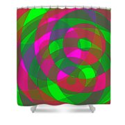 Spin 2 Shower Curtain