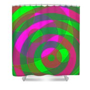 Spin 3 Shower Curtain