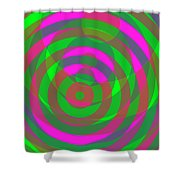 Spin 4 Shower Curtain