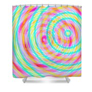 Spin 5 Shower Curtain