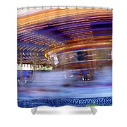 Spin Faster Shower Curtain