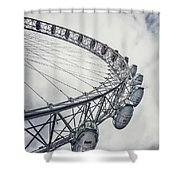 Spin Me Around Shower Curtain
