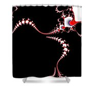 Spinal Tap 2 Red Shower Curtain