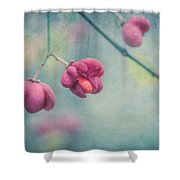 Spindle Tree Shower Curtain