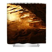 Spindles II - Cave Shower Curtain