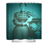 Spinster Woman Shower Curtain