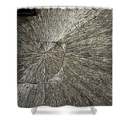 Spiral Confusion Shower Curtain