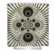 Spiral Eyes Shower Curtain