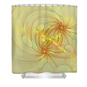 Spiral Mind Connection Shower Curtain