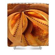 Spiral No. 2 Shower Curtain