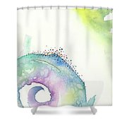 Spiral Of Emotions Shower Curtain