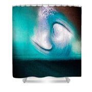 Spiral Realm Of Reflection - #2 Shower Curtain