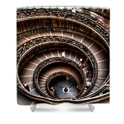 Spiral Staircase No1 Shower Curtain