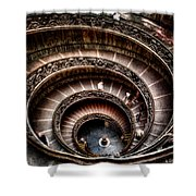 Spiral Staircase No2 Shower Curtain