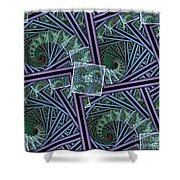 Spiral Staircases Shower Curtain