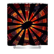 Spiral To Infinity Shower Curtain