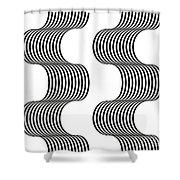 Spiral_02 Shower Curtain