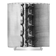 Spiral Stairs Forever Shower Curtain