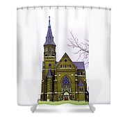 Spire Shower Curtain