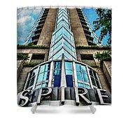 Spire Shower Curtain by Doug Sturgess