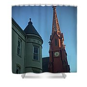 Spire Of Chinatown Shower Curtain