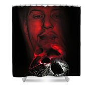 Spirit #2 Remains Shower Curtain