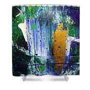 Spirit Angel Shower Curtain