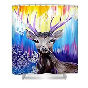 Spirit Animal Shower Curtain