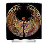 Spirit Shower Curtain