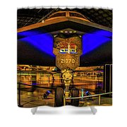 Spirit Bomber B-2 Shower Curtain