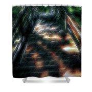 Spirit Bridge Shower Curtain