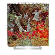 Spirit Dance Shower Curtain