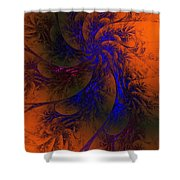 Spirit Dancer Shower Curtain