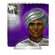 Spirit Guide Collection Shower Curtain