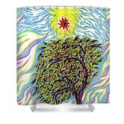 Spirit In The Tree Shower Curtain