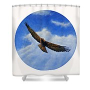 Spirit In The Wind Shower Curtain