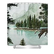 Spirit Lake Shower Curtain