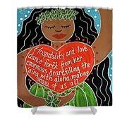 Spirit Of Aloha Shower Curtain