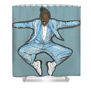 Spirit Of Cab Calloway Shower Curtain