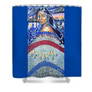 Spirit Of New Orleans/ 300 Years Shower Curtain