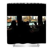 Spirit Of New York Shower Curtain