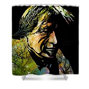 Spirit Of The Land Shower Curtain by Paul Sachtleben