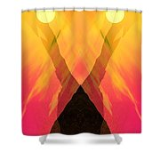 Spirit Of The Mountain Shower Curtain