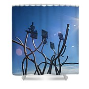 Spirit Of The Staithes Shower Curtain