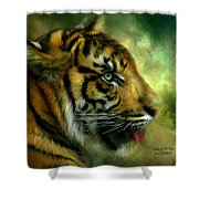 Spirit Of The Tiger Shower Curtain
