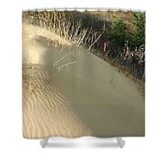 Spirit Sands - Late Day Shower Curtain