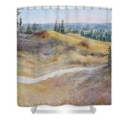 Spirit Sands Shower Curtain
