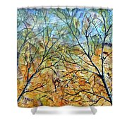 Spirit Trees 7 Shower Curtain