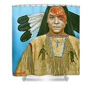 Spirit War Shower Curtain